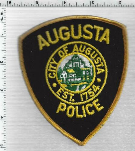 Augusta Police ( Maine) 1st Issue Shoulder Patch
