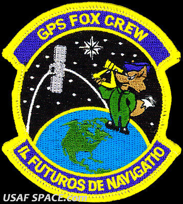 USAF 2nd SPACE OPERATIONS SQUADRON -GPS FOX CREW- Schriever AFB, CO - VEL PATCH