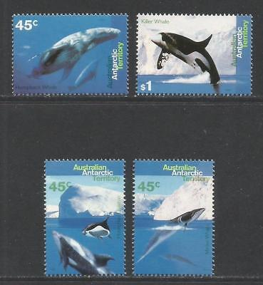 Australia--A.A.T. 1995 Whales & Dolphins--Attractive Topical (L94-97) MNH
