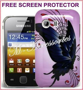 HARD-BUTTERFLY-BACK-COVER-CLIP-ON-CASE-SKIN-FOR-SAMSUNG-GT-S5360-GALAXY-Y