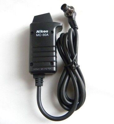 Nikon MC-30A Remote Trigger Release Cord D3 D3s D3x D4 D200 D300 D700 D800 D810