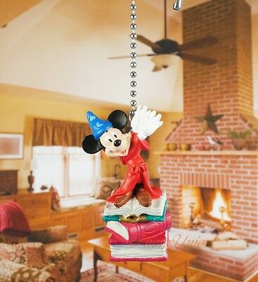 Disney Mickey Mouse Gift Ceiling Fan Pull Light Lamp Chain D