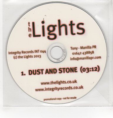 (GH136) The Lights, Dust And Stone - 2013 DJ CD