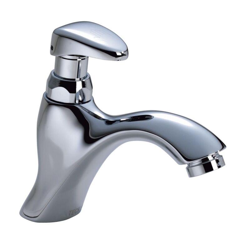 Delta Bathroom Faucet 87T105 Single Hole Metering Slow-Close, Chrome, $170.00