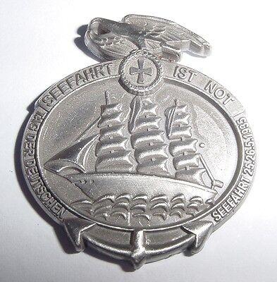 Pin aus Metall, Abzeichen - Seefahrt ist Not ..........P8425
