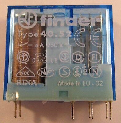 2 Stück FINDER 2xUM 8A 24V /Steck-Printrelais / 40.52.9.024.0001 (AE26/9009) 2x gebraucht kaufen  Algertshausen
