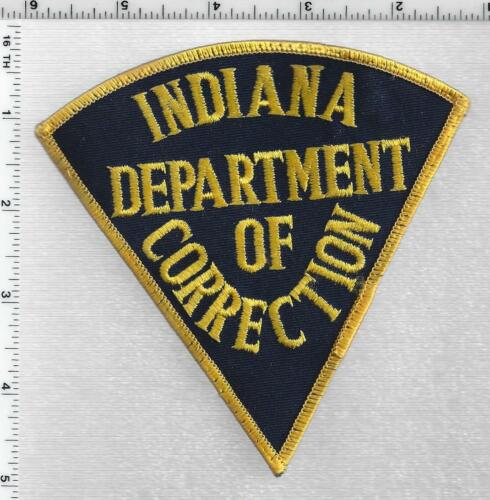 Indiana Department of Correction 2nd Issue Uniform Take-Off Shoulder Patch