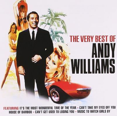 Andy Williams ~ Very Best Of ~ NEW CD ~   25 Track Greatest Hits Collection