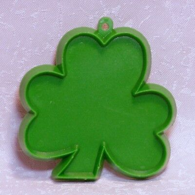 Hallmark Vintage Plastic Cookie Cutter - Irish Shamrock Saint Patrick