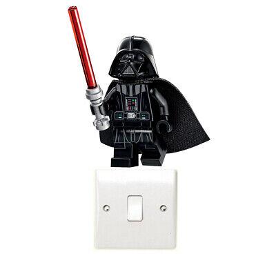 Lego Darth Vader Light Switch Art Sticker Stormtrooper Yoda Jedi Star Wars