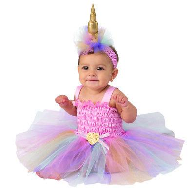 Einhorn Mädchen Kleinkinder Tutu Süß Mythisch Kreatur Halloween (Kleinkind Halloween Tutu Kostüm)