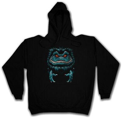 SPACE MONSTER SWEATSHIRT HOODIE Halloween Symbol Logo Sign Critters - Monster Logo Sweatshirt