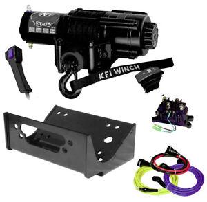 KFI SE45-R2 4500lbs Winch & Mount Combo Kit - 2014-2018 Teryx 800 & Teryx4 800