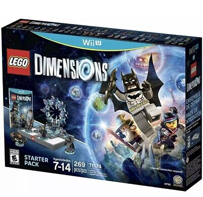 LEGO Dimensions Wii U 71174 Starter Pack WB Games NIB Sealed