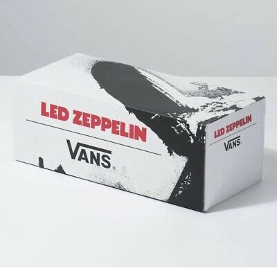 Vans x Led Zeppelin Limited Edition Leather sneakers shoes Size 9 NEW IN BOX!