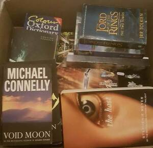 Assorted Box of Books Morningside Brisbane South East Preview