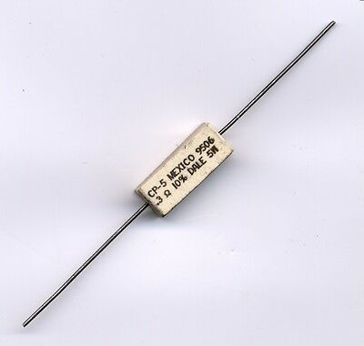 0.3 Ohm 5 Watt 10 Wire Wound Cement Resistor - 5 Pcs