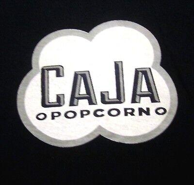 CAJA POPCORN lrg T shirt gourmet