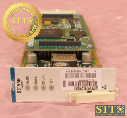 1184515l2 Adtran Opti-6100 Ds1 Tributary Module Vt1.5 Ds1vme Soc2506gaa