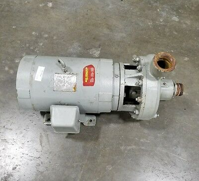 20 Hp 3 Phase Industrial Burks Water Trash Pump Shipping Available 3057sr