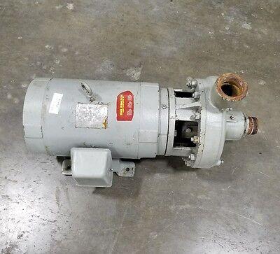 20 Hp 3 Phase Industrial Burks Water Trash Pump 3057sr