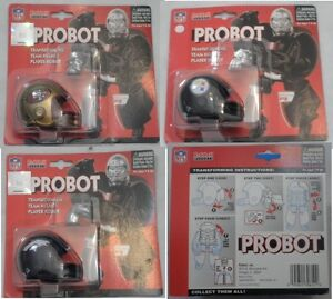 NFL-VINTAGE-PROBOT-TRANSFORMING-TEAM-HELMET-PLAYER-ROBOT-RIDDELL-NEW-1-PIECE