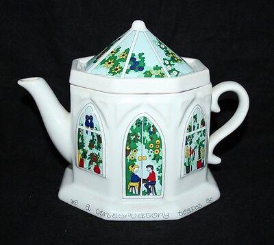 Wade - English Life Teapot - A Conservatory - vgc