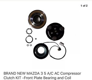 Mazda 3 and Mazda 5 AC compressor clutch kits repair new