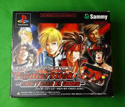 Guilty Gear XX Fighter Stick • Sony PlayStation 2 PS2 PSX System • SMY-0502GX