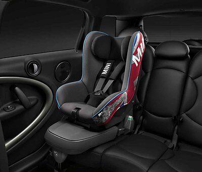 MINI Genuine Baby Child Kids Safety Isofix Car Seat 1 Union Jack 82222355995