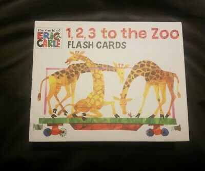 The World of Eric Carle(tm) 1, 2, 3, to the Zoo Flash Cards by Eric Carle