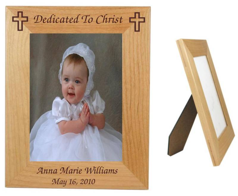 Personalized Baby Gift, Baby Frame, Baptism Gift, Gift For Baby Dedication