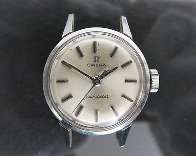 100% Authentic OMEGA Seamaster Hand Winding Women