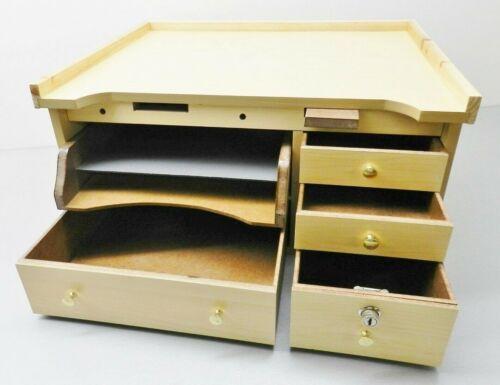 Jewelers Bench Work Table Top Jewelry Repair Watch Hobby & Craft Bead Workbench