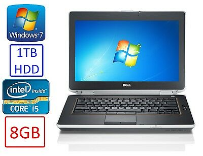 Dell Latitude Laptop    Intel I5   1Tb   8Gb   Windows 7   Webcam   Wifi   Dvd