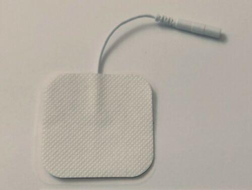 10x TENS EMS Elektroden Pads mit 2mm Stecker für Beurer Sanitas Geräte, 5x5cm