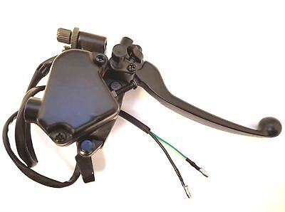 RIGHT THUMB THROTTLE BRAKE LEVER DUAL CABLE ATV QUAD FOR 7/8