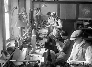 Men Making Artificial Limbs -  Historic Photo Print