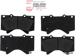 TOYOTA OEM 044650C020 Brake Pad or Shoe, Front/Disc Brake Pad