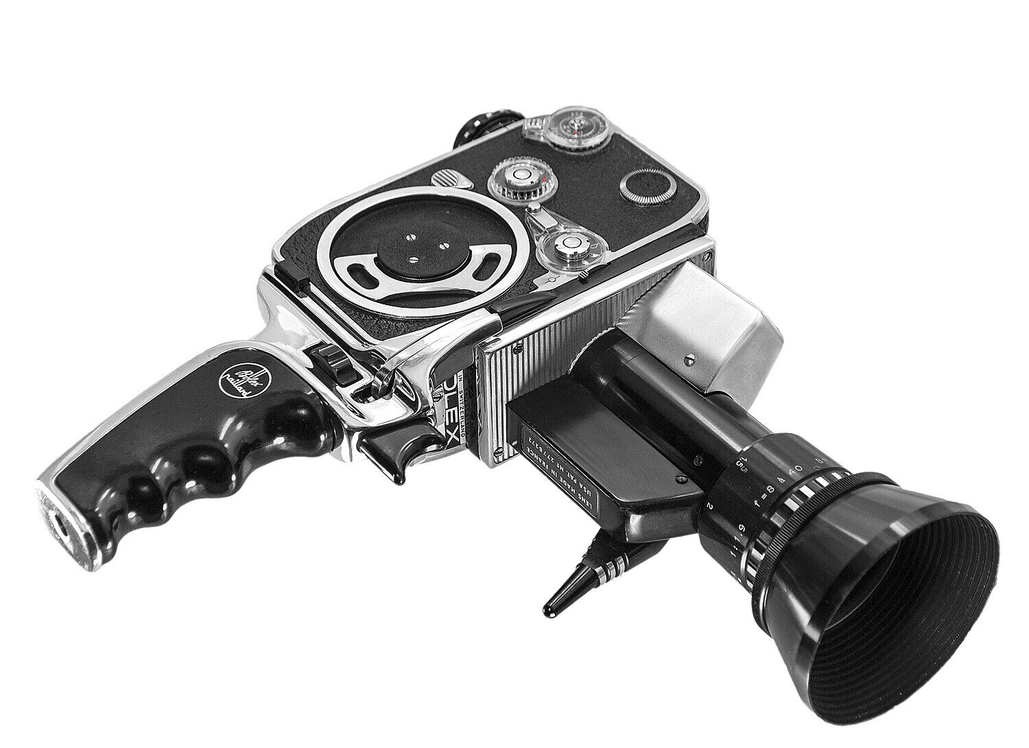 BOLEX P1 8MM REFLEX CAMERA / OVERHAULED / 30 DAY WARRANTY / FREE MANUALS - $449.00