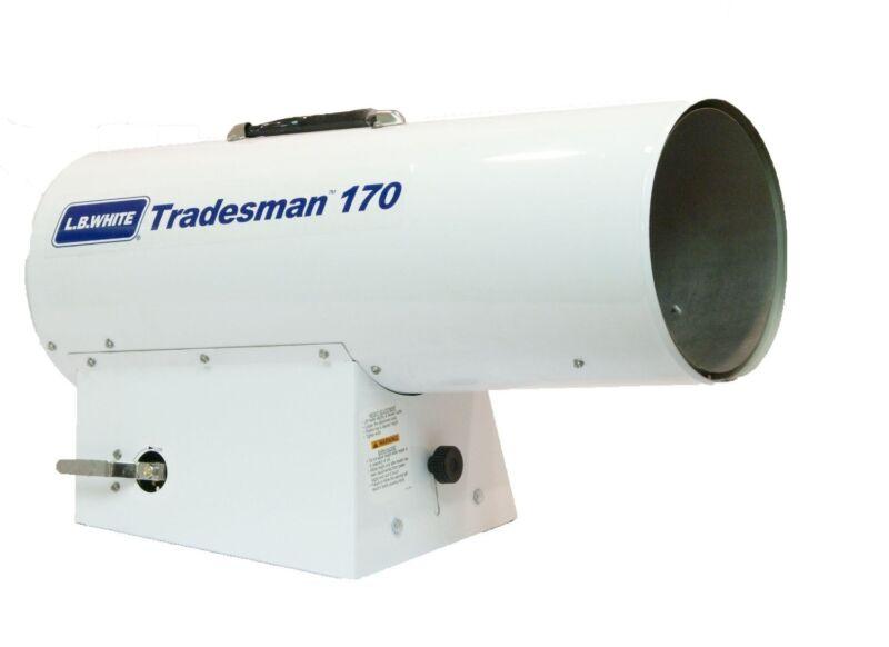 Tradesman 170 Heater 125,000-170,000 BTUH, LP