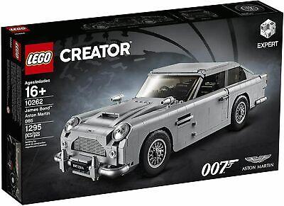 New & Sealed LEGO Creator Expert James Bond Aston Martin 10262