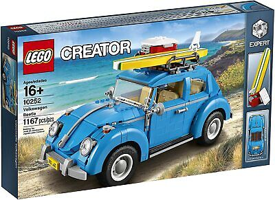 Lego Creator Volkswagen Beetle(10252) Fast Ship New Sealed