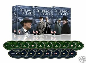 Sherlock Holmes: Complete Series [ITV](DVD 16 Disc Set)~~Jeremy Brett~~BRAND NEW