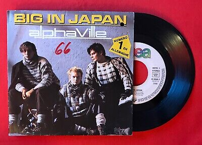 Alphaville Big in Japan Seeds 2495057 VG+ Vinyl 45T Sp