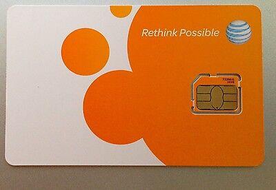 как выглядит AT T MICRO SIM CARD AT T 4G LTE SIM. Brand NEW Version фото