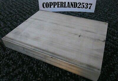 .375 X 8 X 12 Long New 6061 T6 Solid Aluminum Plate Flat Bar Stock Block 38
