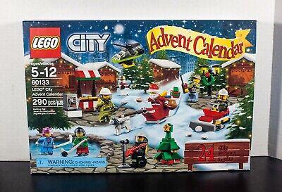 LEGO City ADVENT CALENDAR 60133 Christmas Tree SANTA Seasonal Holiday SEALED New