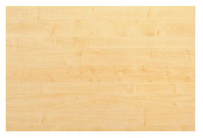 Tischplatte Schreibtischplatte Holz 120 x 80 cm Ahorn z.B. für Esstisch NEU+OVP