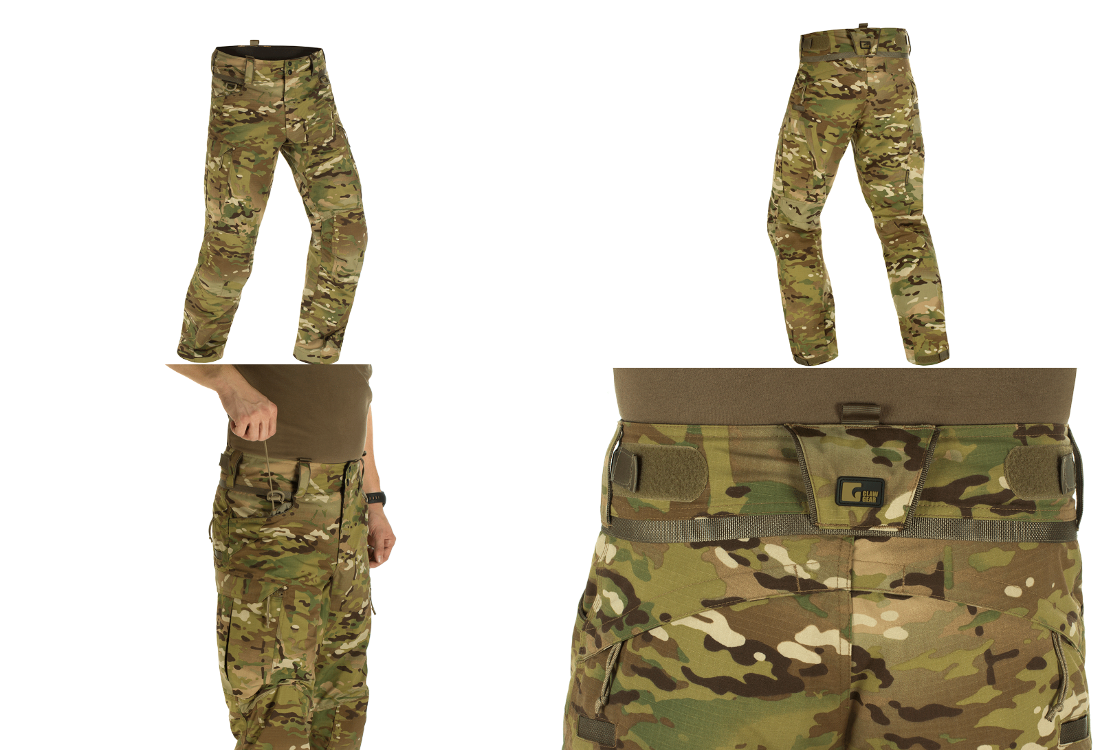 Claw Gear Operator Pantaloni Combat Pant Knee Pads Multicam Mc Nyco Size 60 R -  - ebay.it